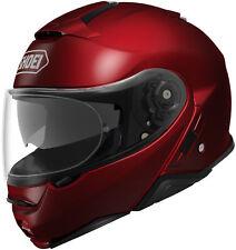 Shoei Neotec II Helmet Wine Red Full Face Flip-Up Street All Sizes