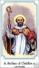 SANTINO HOLY CARD SANTO STEFANO DI CHATILLON CERTOSINO VESCOVO