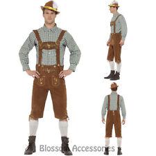 CL973 Traditional  Hans Lederhosen Bavarian Costume Oktoberfest Beer Costume