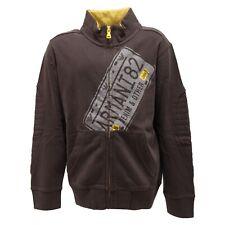 2425R felpa bimbo grigia ARMANI JUNIOR maglie kids sweatshirts