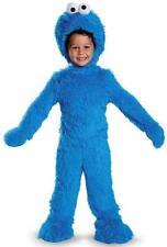Cookie Monster Plush Sesame Street Fancy Dress Halloween Deluxe Child Costume
