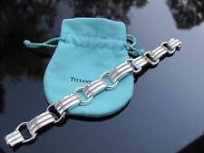 Tiffany & Co RARE Atlas Groove Link Bracelet Bangle!