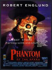 PHANTOM OF THE OPERA__Original 1990 Trade AD__horror movie promo__ROBERT ENGLUND