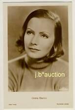 Greta Garbo * VINTAGE 30s Real Photo PC Ross Verlag