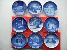 Bing & Gröhndahl Weihnachtsteller 1990 bis 2017 - EINZELVERKAUF der Teller