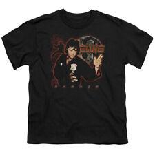 Elvis Presley Kids T-Shirt Karate Black Tee