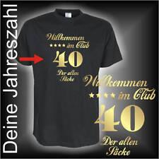 Willkommen im Club der alten Säcke, Geburtstags Fun T-Shirt (FSG025)