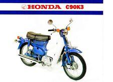 1981 HONDA C90K3 SCOOTER 2 Page Motorcycle Brochure NOS