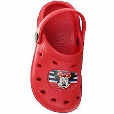 Minnie Mouse Clogs Badeschuhe Sandalen rot  Gr. 24 - 31
