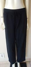 Hot Cotton by Marc Ware Elastic Drawstring Cotton Sweat Pants Black NEW S M L XL