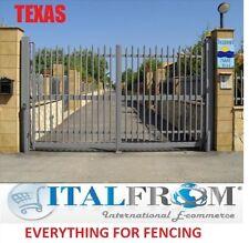 portail battant clôtures fer forgé galvanisé (Texas)