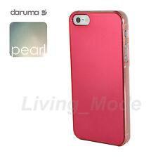 Red Premium Quality daruma S-Pearl iPhone 5/5S Stylish Pearl Like Cover Case