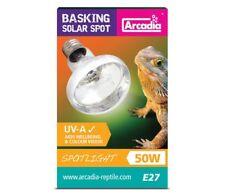 Arcadia Basking Solar Spot E27 Speziallampe Terrarienlampe Spotlight Lampe