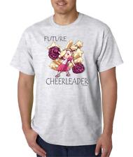USA Made Bayside T-shirt Cheer Future Cheerleader Cheerleading