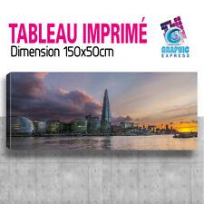 TABLEAU TOILE IMPRIME TABLEAUX TOILES PANORAMIQUE LONDON DECORATION LON-03