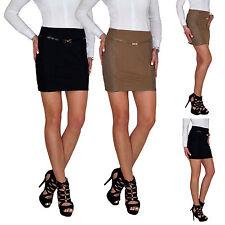 Damen High Waist Stretch Bleistift Pencil Mini Spitzen Skirt Rock Spitze E106