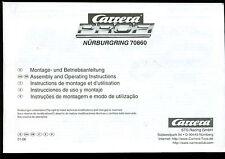 Carerra-Profi-Montage und Betriebsanleitung- aus Set Nürburgring -70860-