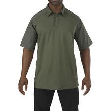 5.11 Hombres Rápido Rendimiento Polo Camisa Manga Corta Caza Senderismo Superior
