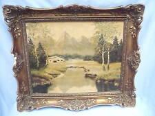 schönes,altes Gemälde__Berglandschaft__Jansen O. 54__ !