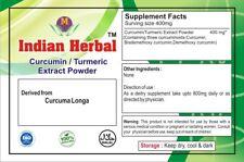 Curcumin 95% Curcuminoid Turmeric Root (Curcuma Longa) Extract antioxident ..