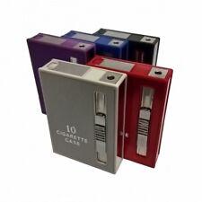 Zigarettenetui für 10 Zigaretten Spender mit integriertem Feuerzeug