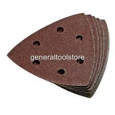 SANDING SHEETS BOSCH PDA 100 120 E 240 E DETAIL SANDER TRIANGULAR CHOICE GRADES