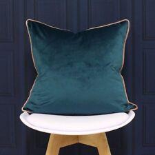 Paoletti Meridian Velvet Filled Cushion, 55 x 55 Cm,