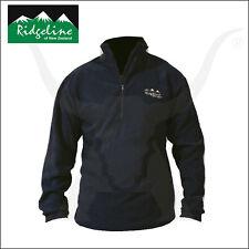 Ridgeline Micro Fleece Long Sleeve Shirt - Black - Hunting and Outdoor Clothing