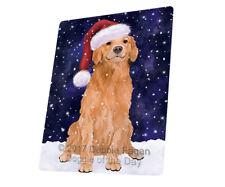 Let it Snow Christmas Golden Retriever Dog Woven Throw Sherpa Blanket T01