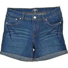 Hotpants Damen Shorts Sommer Freizeit Jeans Waschung 5 Pocket Baumwolle ÖkoTex