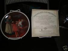 "1987 Knowles Collector Plate ""Grandma's Suprise"""