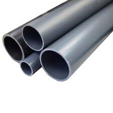 PVC Druckrohr 10 und 16bar Größe 12 bis 110mm