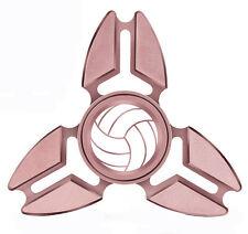 Fidget Spinner Tri-Spinner Aluminum Metal Volleyball
