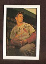 1953 BOWMAN #115 1983 REPRINT CLOYD BOYER CARDINALS SIGNED CARD PSA/DNA AUTO