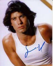 JOHN TRAVOLTA Signed VINTAGE POSE Photo w/ Hologram COA