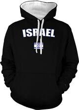 Israel Israeli Middle East Jerusalem Flag Country Pride 2-tone Hoodie Pullover