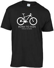 Bicicleta de montaña bici de montaña-nació para montar obligados a trabajar T-Shirt