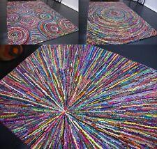 Hochwertiger Designer Teppich Mehrfarbig aus Baumwolle neu ca 230 x 160 cm