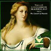 Monteverdi: Il Sesto Libro De Madrigali 1614 (Sixth Book of Madrigals); 1990 CD,