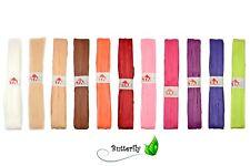 50m Papier Raffia Bast 15mm 0,059€/m Deko Band Bastband Basteln Natur Bast matt