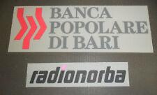 SPONSOR MAGLIETTA A 2010 BARI BANCA POPOLARE RADIONORBA