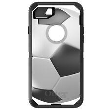 CUSTOM OtterBox Defender for iPhone 6 6S 7 PLUS Soccer Ball 3D