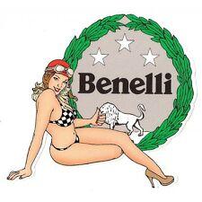 BENELLI right pin up droite Sticker°