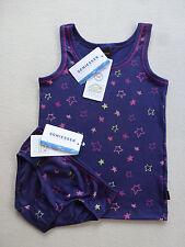 SCHIESSER Mädchen STERNE Garnitur = Sparpack -10% oder einzeln Unterhemd Slip