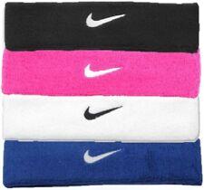 ✔ NIKE Swoosh Stirnband Schweißband ✔ Schwarz Weiß Pink Tennis Fitness Joggen