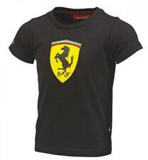 Ferrari Kids Black Shield Tee Shirt