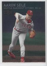 2000 Skybox Metal Emerald #131 Aaron Sele Texas Rangers Baseball Card