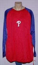Majestic Philadelphia Phillies Men's Big & Tall Therma Base Sweatshirt - MLB