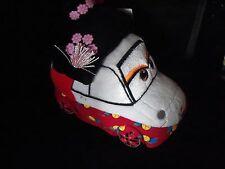 "Disney Pixar Cars 2 Okuni Kabuki Plush Toy 7"""