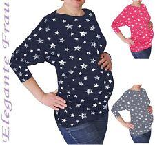 Fledermausärmel Stillshirt Umstands Shirt Kimono Bluse Umstands Tunika Pullover